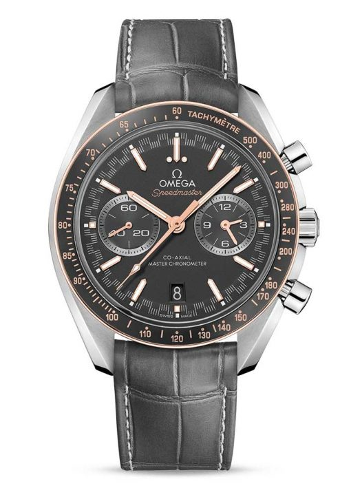 Omega Speedmaster Racing Co-Axial Master Stainless Steel & 18K Sedna™ Gold Men's Watch, 329.23.44.51.06.001