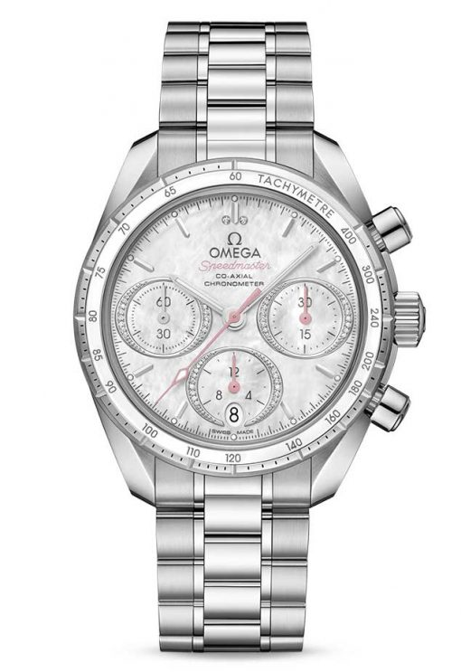 Omega Speedmaster Co-Axial Stainless Steel Unisex Watch, 324.30.38.50.55.001