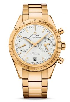 Omega Speedmaster '57 Co-Axial Chronograph 18K Yellow Gold Men's Watch 331.50.42.51.02.001