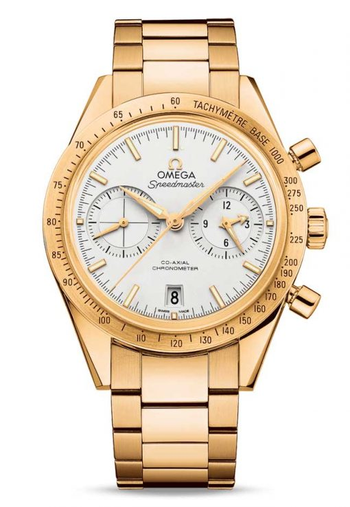 Omega Speedmaster '57 Co-Axial Chronograph 18K Yellow Gold Men's Watch, 331.50.42.51.02.001