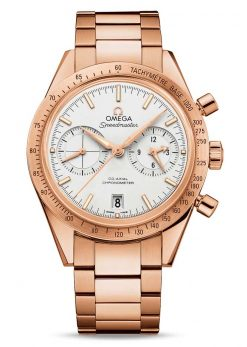 Omega Speedmaster '57 Co-Axial Chronograph 18K Red Gold Men's Watch 331.50.42.51.02.002