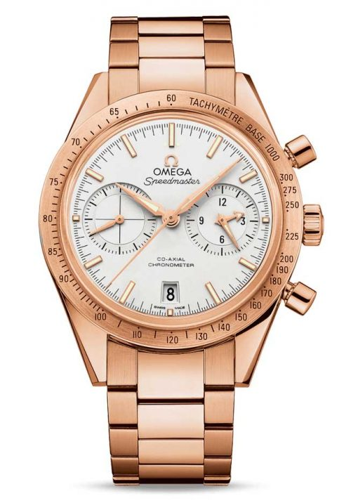 Omega Speedmaster '57 Co-Axial Chronograph 18K Red Gold Men's Watch, 331.50.42.51.02.002