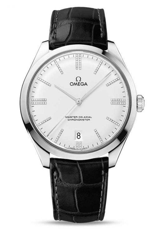 Omega De Vile Tresor Master Co-Axial Limited Edition 18K White Gold & Diamonds Unisex Watch, 432.53.40.21.52.001