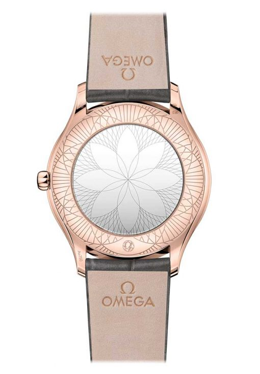 Omega De Vile Tresor 18K Sedna™ Gold & Diamonds Ladies Watch, 428.58.36.60.02.001 3