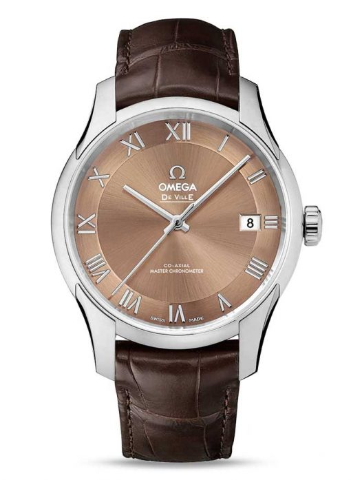 Omega De Vile Hour Vision Co-Axial Master Stainless Steel Unisex Watch, 433.13.41.21.10.001