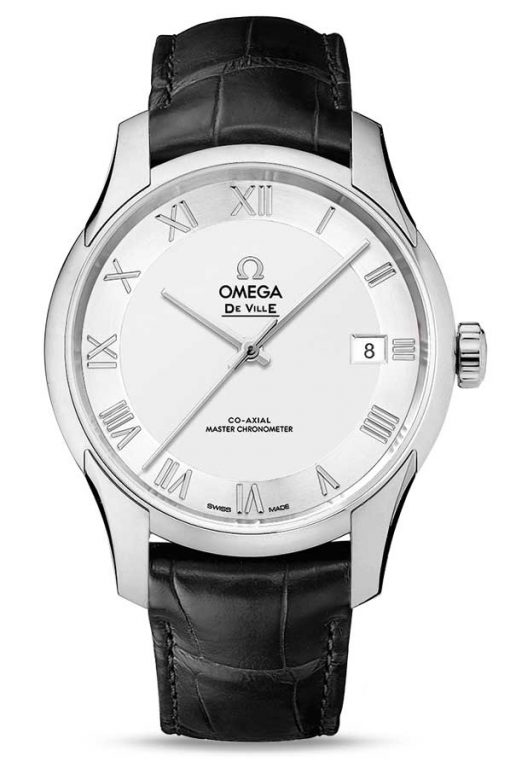 Omega De Vile Hour Vision Co-Axial Master Stainless Steel Unisex Watch, 433.13.41.21.02.001