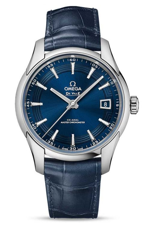 Omega De Vile Hour Vision Co-Axial Master Stainless Steel Men's Watch, 433.33.41.21.03.001