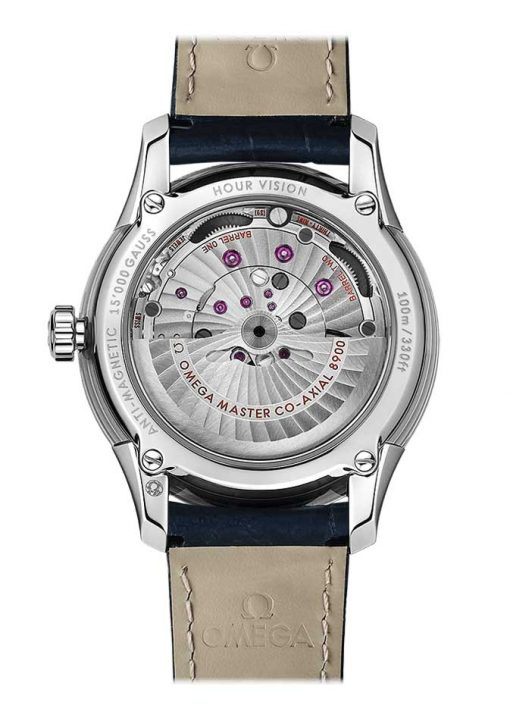 Omega De Vile Hour Vision Co-Axial Master Stainless Steel Men's Watch, 433.33.41.21.03.001 2