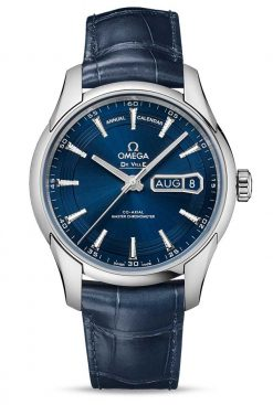 Omega De Vile Hour Vision Co-Axial Master Annual Calendar Stainless Steel Men's Watch 433.33.41.22.03.001