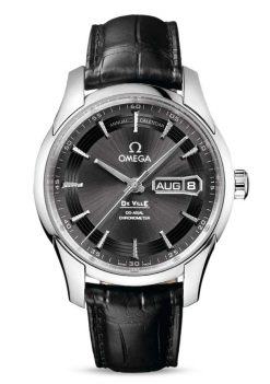 Omega De Vile Hour Vision Co-Axial Master Annual Calendar Stainless Steel Men's Watch 431.33.41.22.06.001