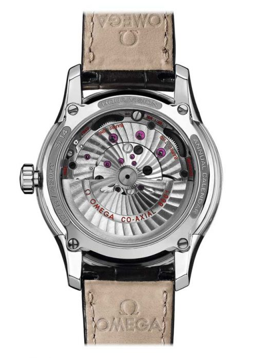 Omega De Vile Hour Vision Co-Axial Master Annual Calendar Stainless Steel Men's Watch, 431.33.41.22.06.001 3