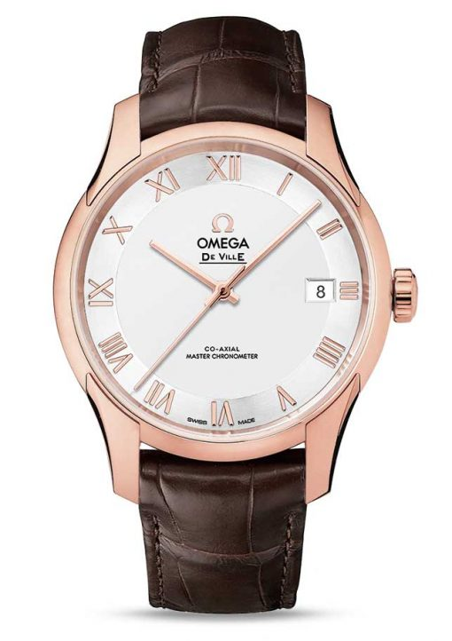 Omega De Vile Hour Vision Co-Axial Master 18K Sedna™Gold Unisex Watch, 433.53.41.21.02.001