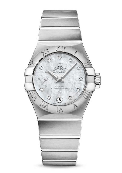 Omega Constellation Petite Seconde Co-Axial Master Stainless Steel Ladies Watch, 127.10.27.20.55.001