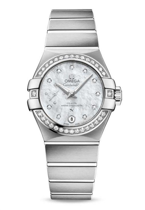 Omega Constellation Petite Seconde Co-Axial Master Stainless Steel Ladies Watch, 127.15.27.20.55.001