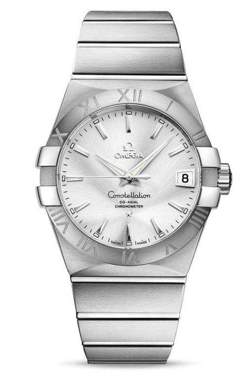 Omega Constellation Co-Axial Stainless Steel Unisex Watch, 123.10.38.21.02.001