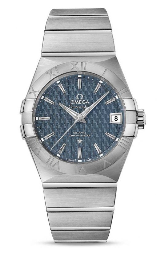 Omega Constellation Co-Axial Stainless Steel Men's Watch, 123.10.38.21.03.001