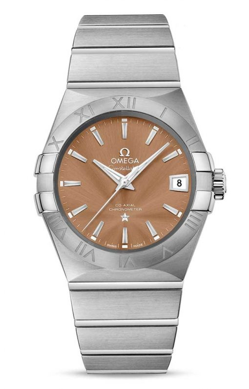 Omega Constellation Co-Axial Stainless Steel Men's Watch, 123.10.38.21.10.001