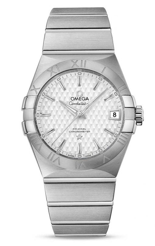 Omega Constellation Co-Axial Stainless Steel Men's Watch, 123.10.38.21.02.003