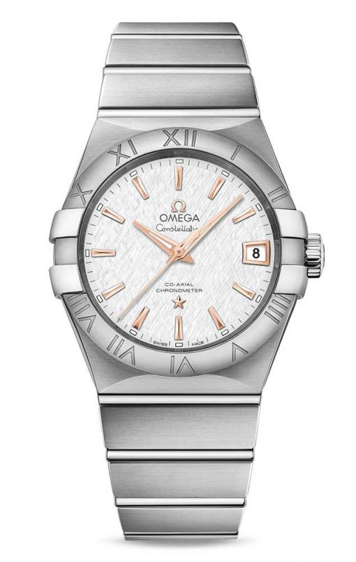 Omega Constellation Co-Axial Stainless Steel Men's Watch, 123.10.38.21.02.002