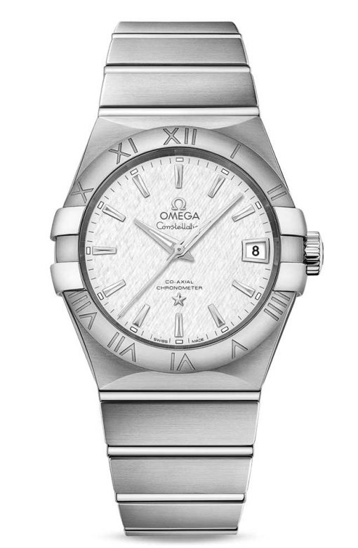 Omega Constellation Co-Axial Stainless Steel Men's Watch, 123.10.38.21.02.004