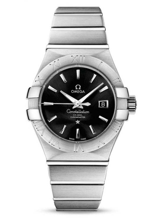 Omega Constellation Co-Axial Stainless Steel Ladies Watch, 123.10.31.20.01.001