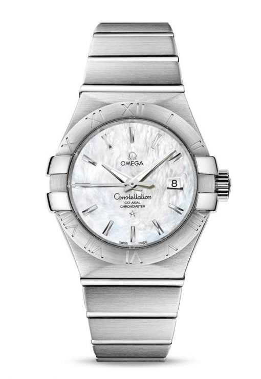 Omega Constellation Co-Axial Stainless Steel Ladies Watch, 123.10.31.20.05.001
