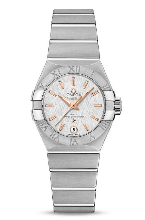Omega Constellation Co-Axial Master Stainless Steel Ladies Watch, 127.10.27.20.02.001