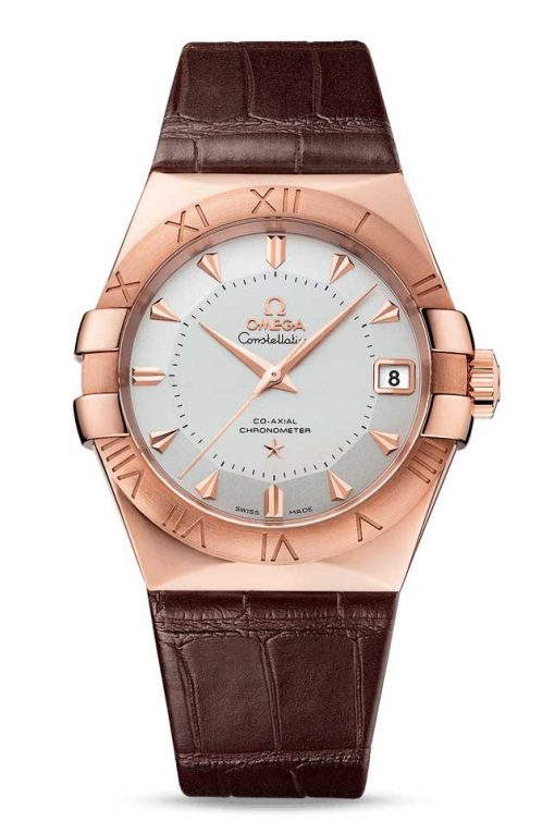 Omega Constellation Co-Axial Limited Edition 18K Sedna™ Gold Men's Watch, 123.53.38.21.02.001