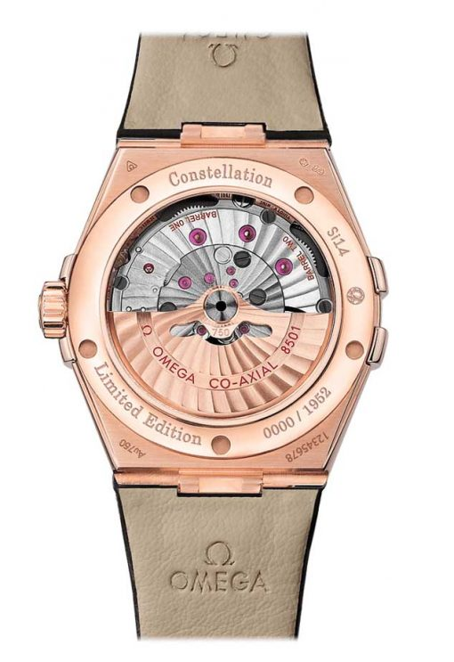 Omega Constellation Co-Axial Limited Edition 18K Sedna™ Gold Men's Watch, 123.53.38.21.02.001 2