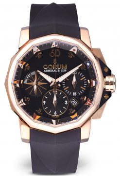 Corum Heritage Admirals Cup Chronograph 18K Rose Gold Men's Watch Preowned-01.0023