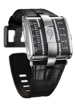 Harry Winston Opus 9 Limited Edition 18K White Gold Men's Watch Preowned-500/MAJMWWL.K