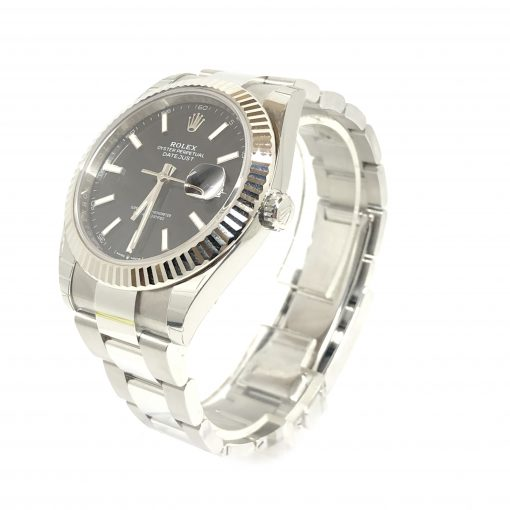 Rolex Oyster Perpetual Datejust 41 Stainless Steel & 18K White Gold Men's Watch, 126334-0017 2