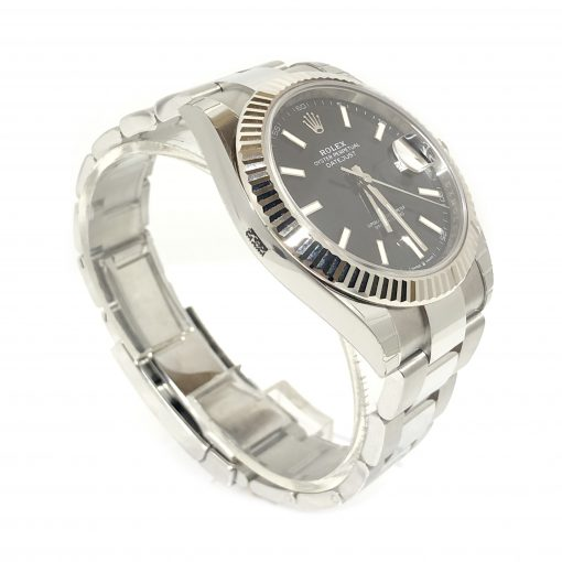 Rolex Oyster Perpetual Datejust 41 Stainless Steel & 18K White Gold Men's Watch, 126334-0017 3
