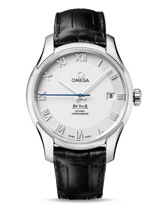 Omega De Vile Co-Axial Stainless Steel Men's Watch, 431.13.41.21.02.001