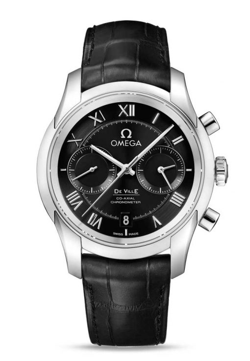 Omega De Vile Co-Axial Chronograph Stainless Steel Men's Watch, 431.13.42.51.01.001