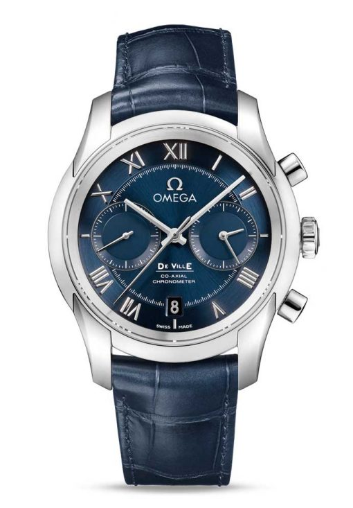 Omega De Vile Co-Axial Chronograph Stainless Steel Men's Watch, 431.13.42.51.03.001