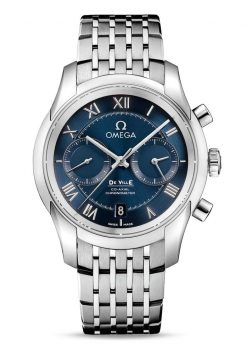 Omega De Vile Co-Axial Chronograph Stainless Steel Men's Watch 431.10.42.51.03.001