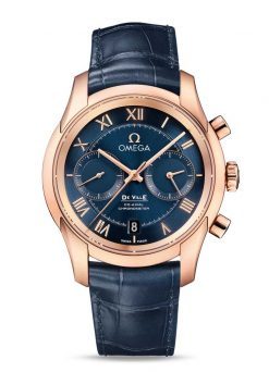 Omega De Vile Co-Axial Chronograph 18K Red Gold Men's Watch preowned.431.53.42.51.03.001