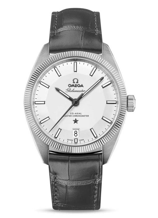 Omega Globemaster Co-Axial Master Stainless Steel Men's Watch, 130.33.39.21.02.001