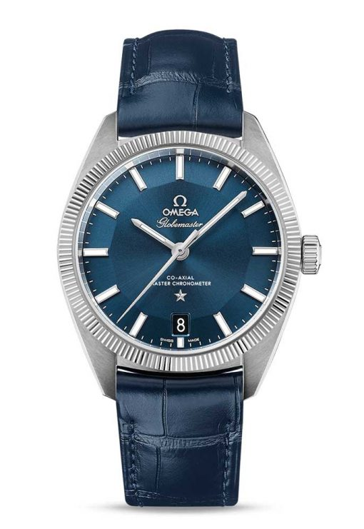 Omega Globemaster Co-Axial Master Stainless Steel Men's Watch, 130.33.39.21.03.001