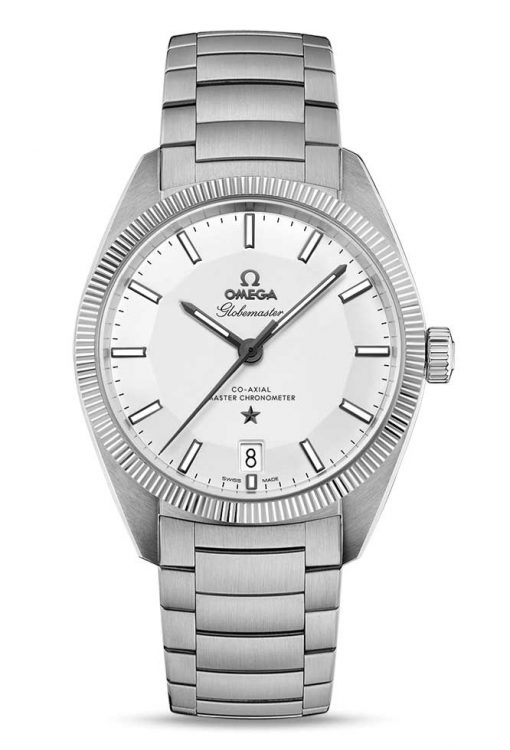 Omega Globemaster Co-Axial Master Stainless Steel Men's Watch, 130.30.39.21.02.001