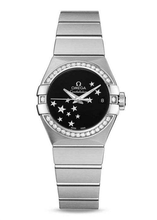 Omega Constellation Co-Axial Stainless Steel Ladies Watch, 123.15.27.20.01.001