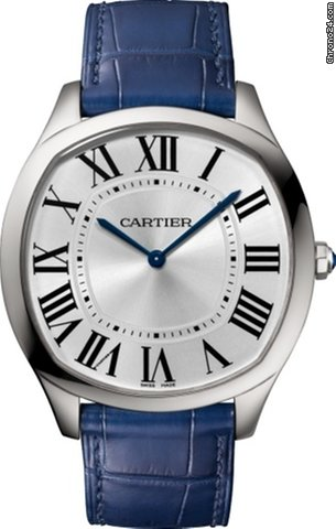 Cartier Drive Stainless Steel Men's Watch, WSNM0011