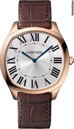 Cartier Drive 18K Pink Gold Men's Watch WGNM0006