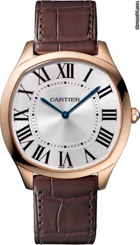Cartier Drive 18K Pink Gold Men's Watch, WGNM0006