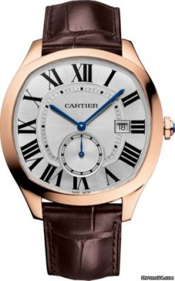 Cartier Drive 18K Pink Gold Men's Watch WGNM0003