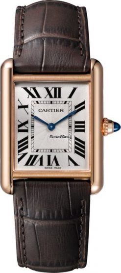Cartier Tank Louis 18K Pink Gold Watch WGTA0011