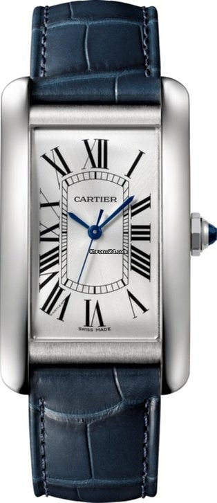 Cartier Tank Américaine Stainless Steel Watch, WSTA0018