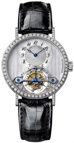 Brequet Classique Complications 3358 18K White Gold Ladies Watch pre-owned.3358BB