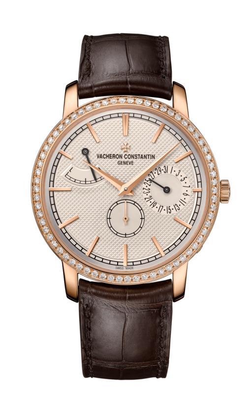 Vacheron Constantin Traditionnelle 18K 5N Pink Gold & Diamonds Men's Watch, 83520/000R-9909